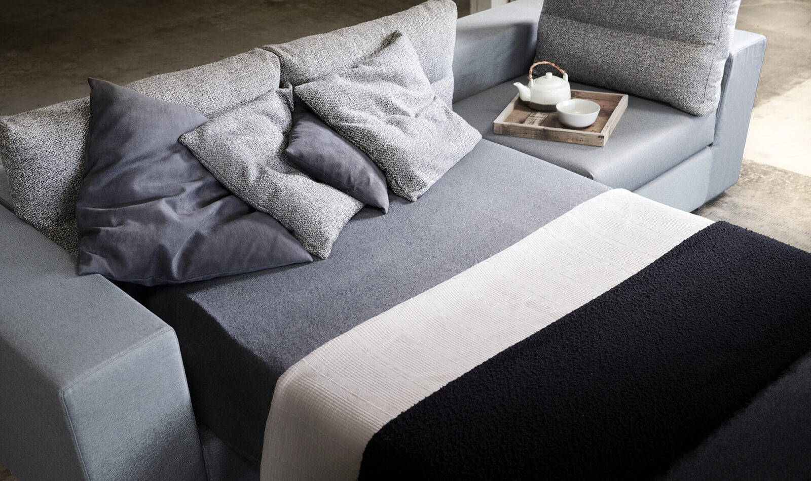 sezione divano Mimesis