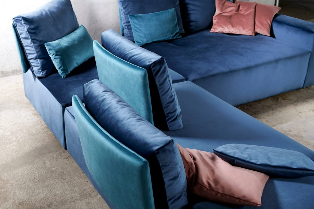 sezione divano angolare On - Off